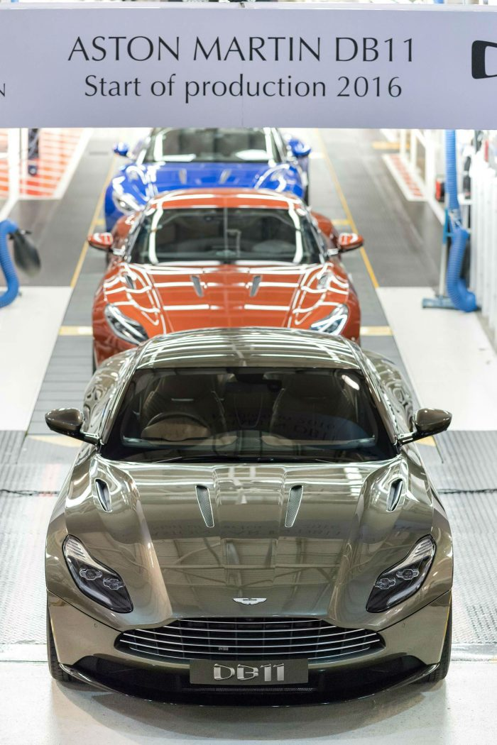 Aston Martin DB11 goes into production carwitter 700x1050 - Aston Martin DB11 starts production - Aston Martin DB11 starts production