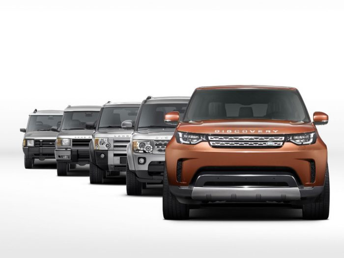 Land Rover Discoverys