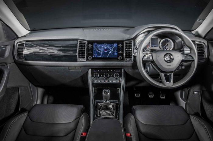 Skoda Kodiaq Dashboard 700x466 - New Skoda Kodiaq SUV Fully Revealed - New Skoda Kodiaq SUV Fully Revealed