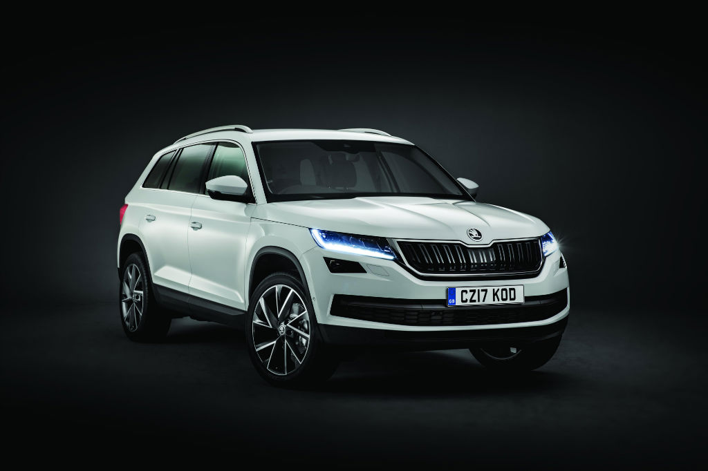 Skoda Kodiaq Front - New Skoda Kodiaq SUV Fully Revealed - New Skoda Kodiaq SUV Fully Revealed
