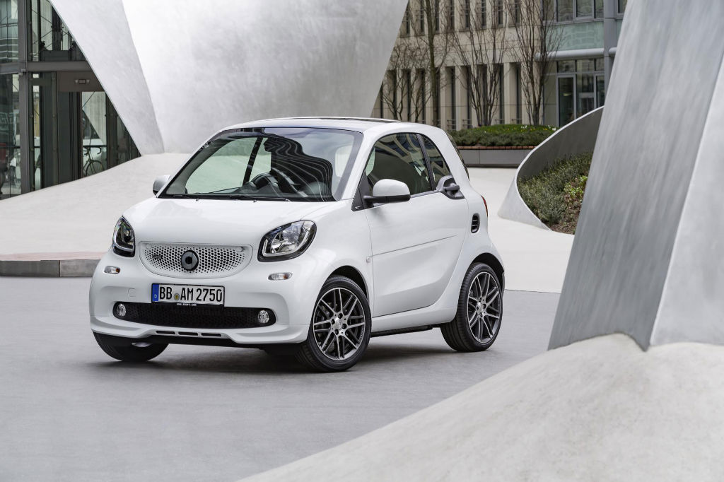 Smart Brabus Front - Pricing for the Smart Brabus Range Announced - Pricing for the Smart Brabus Range Announced
