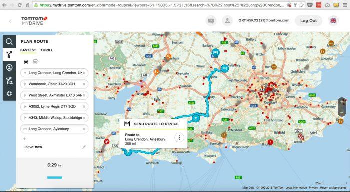 TomTom MyDrive 700x384 - TomTom Go 5100 Sat Nav Review - TomTom Go 5100 Sat Nav Review