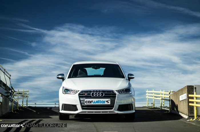2016 Audi S1 Review Front On Low Carwitter 700x465 - Audi S1 Review - Audi S1 Review
