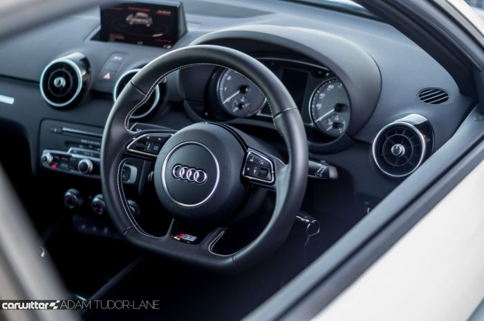 2016 Audi S1 Review Interior Carwitter 700x465 - Audi S1 Review - Audi S1 Review