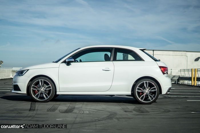 2016 Audi S1 Review Side Carwitter 700x465 - Audi S1 Review - Audi S1 Review
