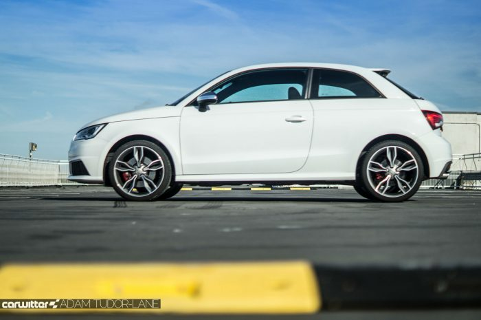 2016 Audi S1 Review Side Low Carwitter 700x465 - Audi S1 Review - Audi S1 Review
