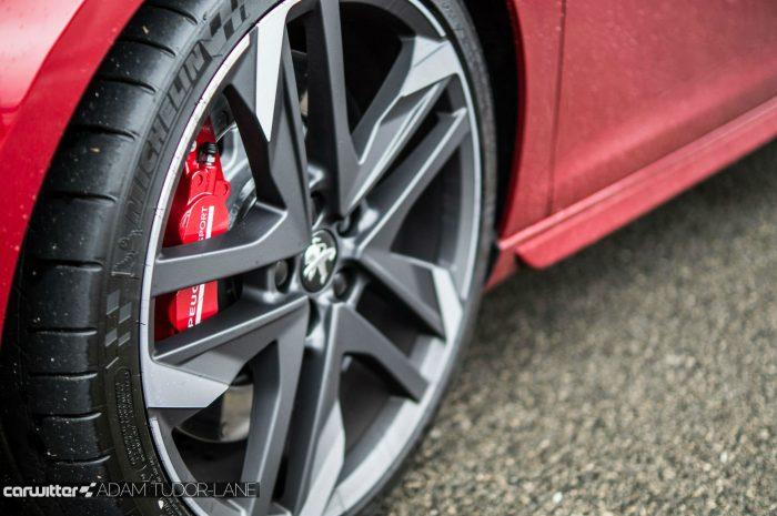 2016 Peugeot 308 GTi Review Alloys carwitter 700x465 - Peugeot 308 GTi Review - Peugeot 308 GTi Review