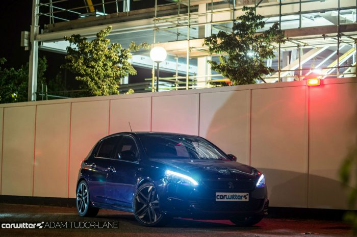 2016 Peugeot 308 GTi Review Blue Night Side Angle carwitter 700x465 - Peugeot 308 GTi Review - Peugeot 308 GTi Review