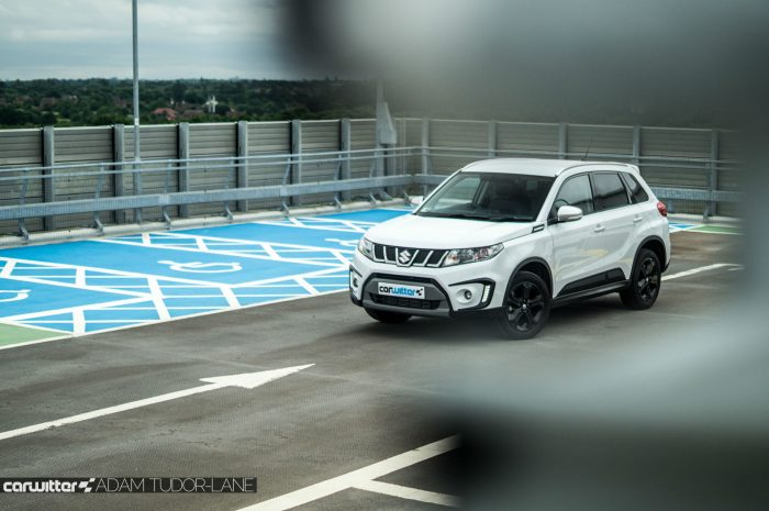 2016 Suzuki Vitara S Review Scene Foreground carwitter 700x465 - Why are crossover SUV's so popular? - Why are crossover SUV's so popular?