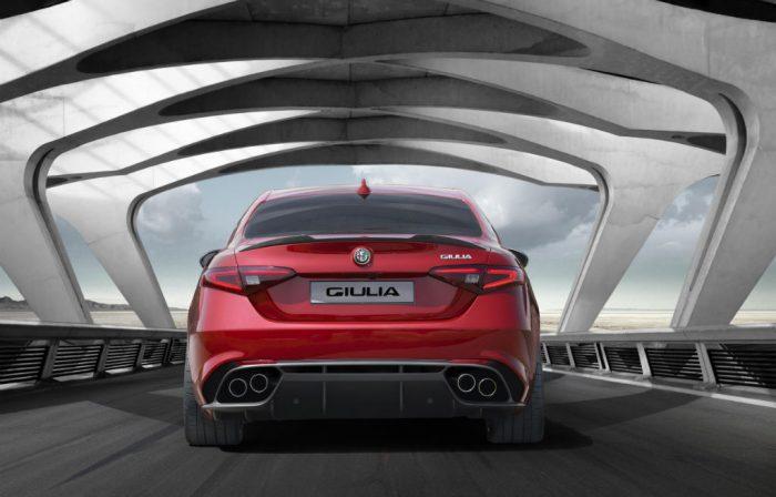 Alfa Romeo Giulia Back 700x448 - Alfa Romeo Giulia UK spec and prices revealed - Alfa Romeo Giulia UK spec and prices revealed