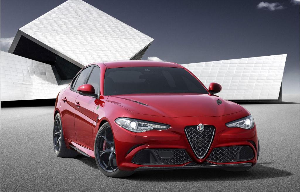 Alfa Romeo Giulia Front 2 - Alfa Romeo Giulia UK spec and prices revealed - Alfa Romeo Giulia UK spec and prices revealed