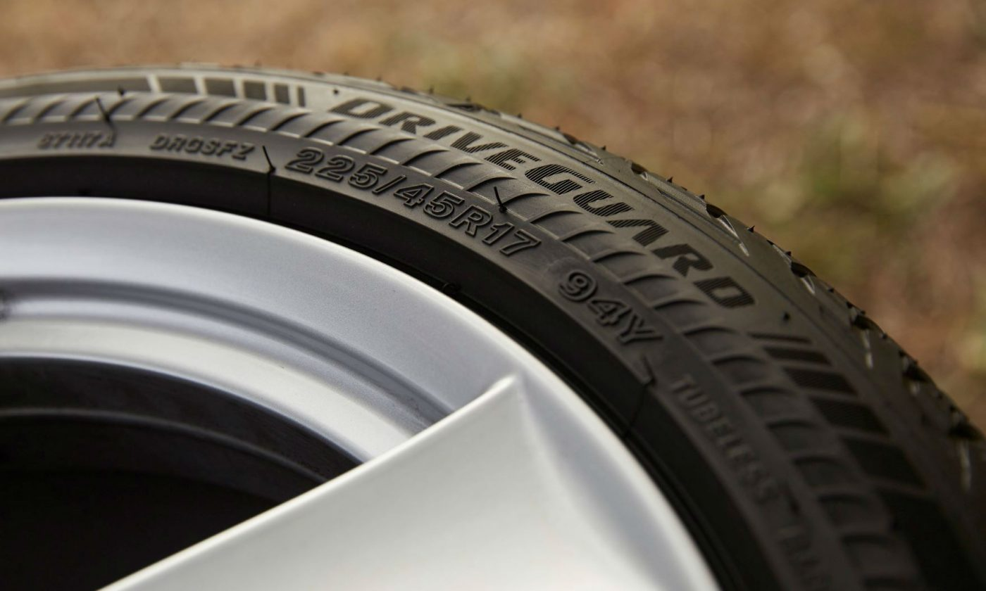 Bridgestone Driveguard Tyre carwitter 1400x840 - 3 Tips To Help You Figure Out The Tire Size For Your Car - 3 Tips To Help You Figure Out The Tire Size For Your Car