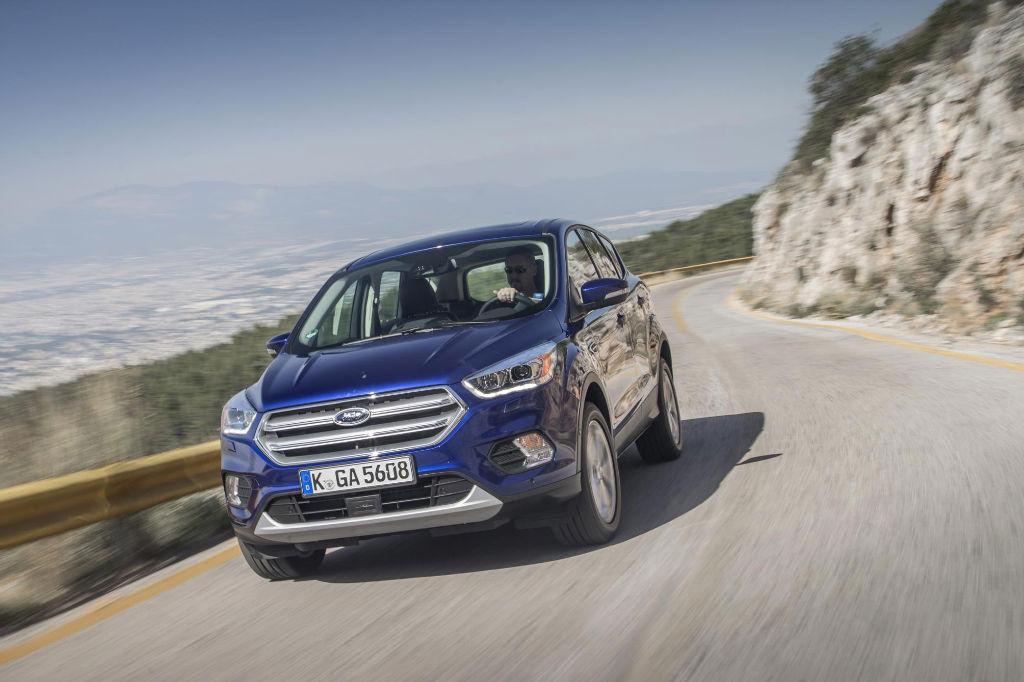 Ford Kuga 2016 Facelift Front - Details Revealed on Facelift Ford Kuga - Details Revealed on Facelift Ford Kuga
