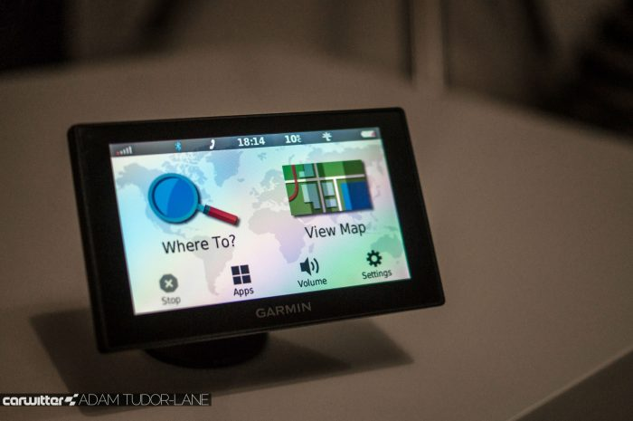 Garmin DriveSmart 50 Review Front Screen On 2 carwitter 700x465 - Garmin DriveSmart 50 Review - Garmin DriveSmart 50 Review