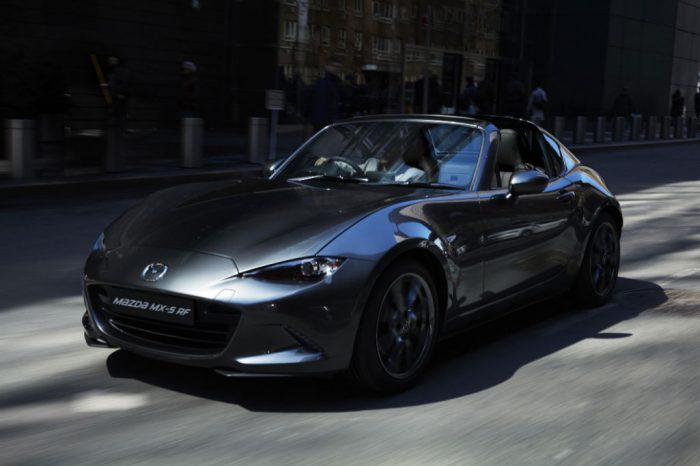Mazda MX 5 RF Front 700x466 - Pricing and spec announced for the all-new Mazda MX-5 RF - Pricing and spec announced for the all-new Mazda MX-5 RF