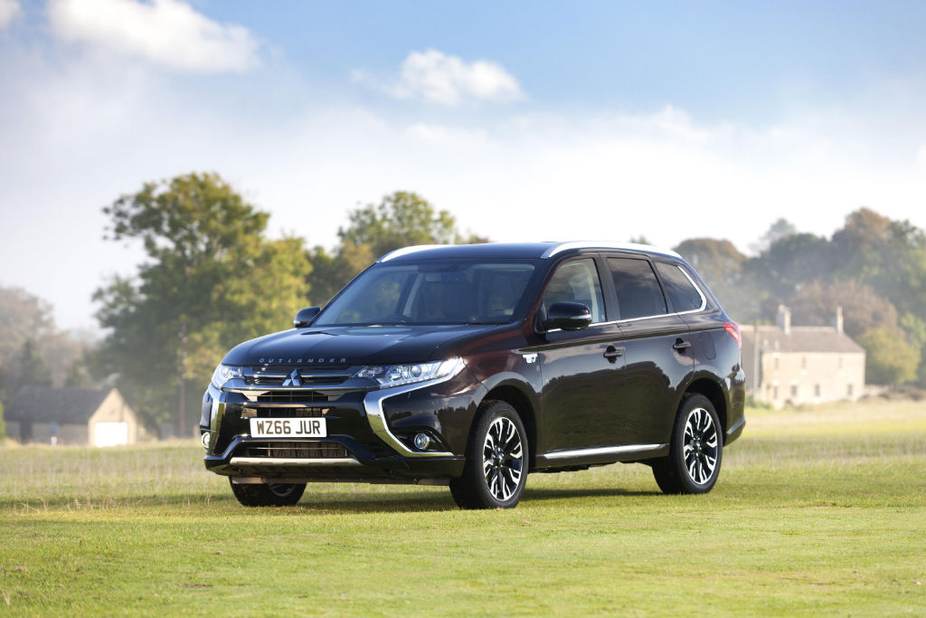 Mitsubishi Outlander PHEV Juro Front - Limited Edition Mitsubishi Outlander PHEV Juro to go on sale - Limited Edition Mitsubishi Outlander PHEV Juro to go on sale