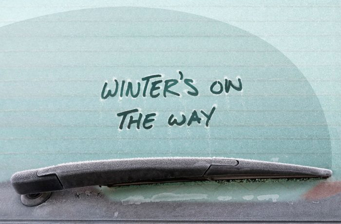 Winter On The Way Frozen carwitter 700x460 - Winter driving - the ultimate preparation guide - Winter driving - the ultimate preparation guide