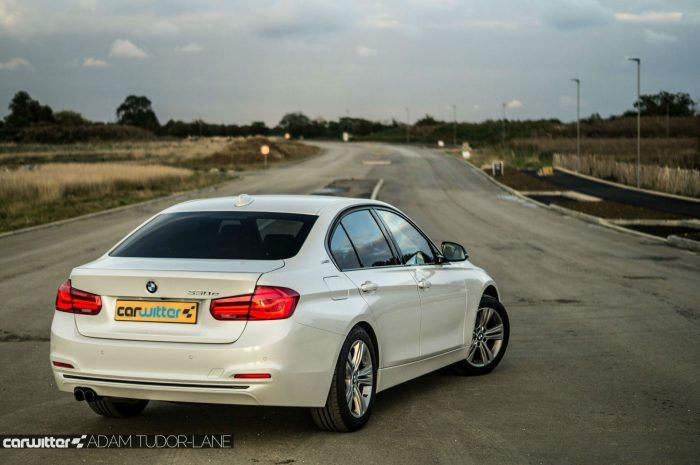 2016 BMW 330e eDrive Review Rear Angle carwitter 700x465 - BMW 330e Review - The future of motoring - BMW 330e Review - The future of motoring