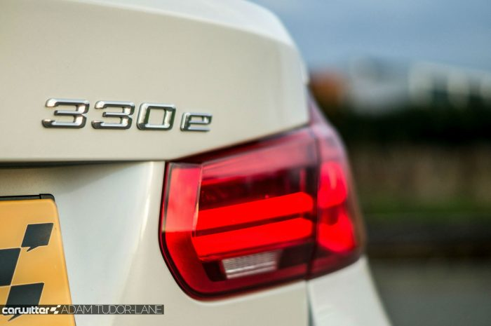 2016 BMW 330e eDrive Review Rear Badge carwitter 700x465 - BMW 330e Review - The future of motoring - BMW 330e Review - The future of motoring