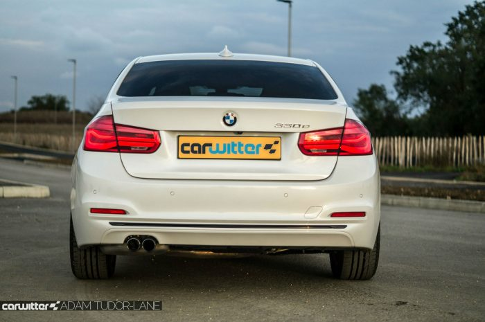 2016-bmw-330e-edrive-review-rear-carwitter