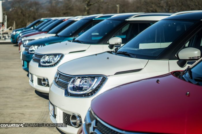 2016-suzuki-ignis-review-lineup-front-carwitter