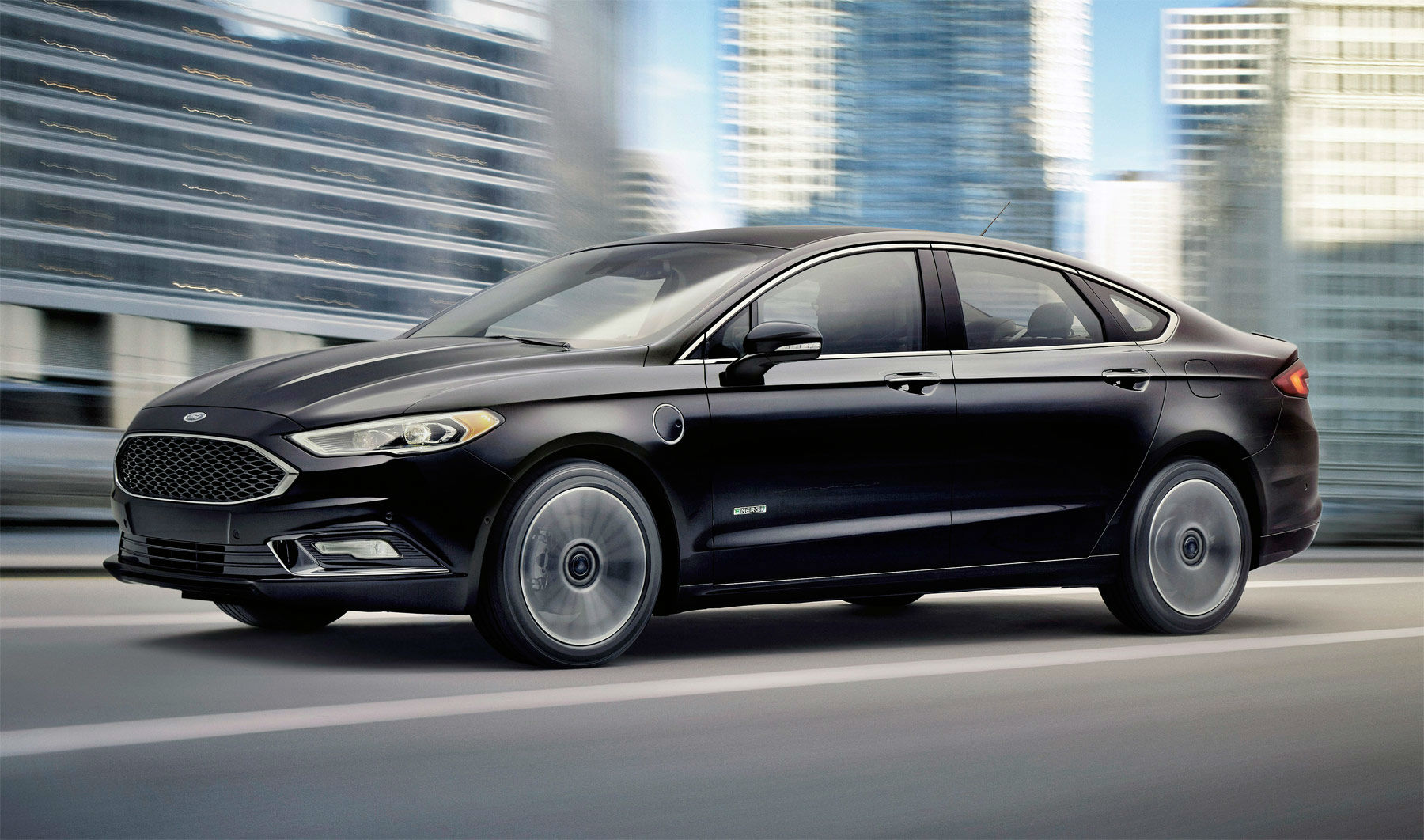 2017 Ford Fusion Front Angle Carwitter