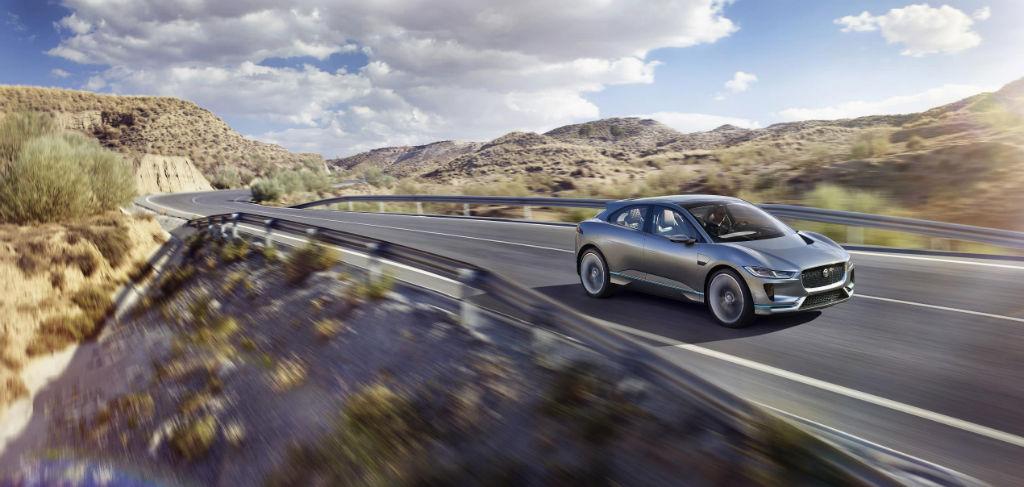Jaguar I PACE - Jaguar Reveal I-PACE Concept Car - Jaguar Reveal I-PACE Concept Car