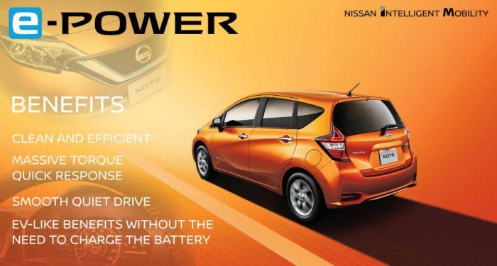 Nissan e Power Note 700x375 - Nissan introduce e-Power - Nissan introduce e-Power