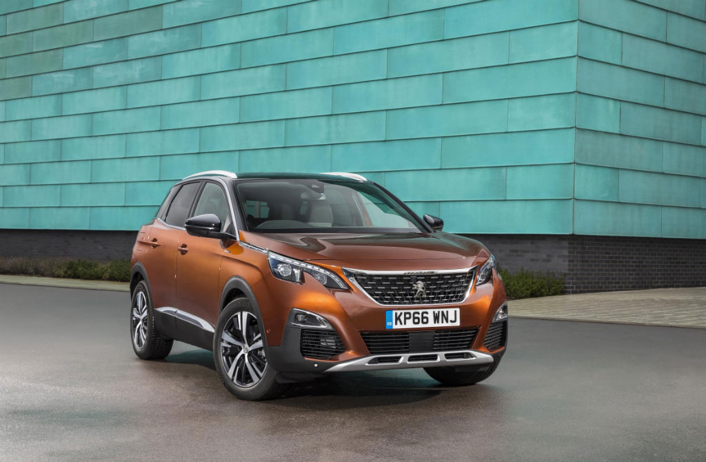 Peugeot 3008 Front - All New Peugeot 3008 SUV Priced & Ready To Order - All New Peugeot 3008 SUV Priced & Ready To Order