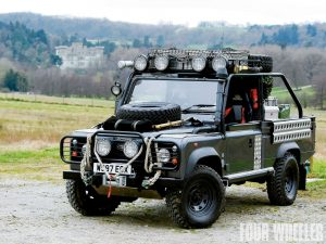 Tomb Raider Land Rover Defender FOUR WHEELER carwitter 300x225 - Looking for Your Next Project? Tune Up a Land Rover - Looking for Your Next Project? Tune Up a Land Rover