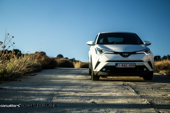 Toyota C HR Review Front On Right carwitter 700x465 - Toyota C-HR Review - Toyota C-HR Review