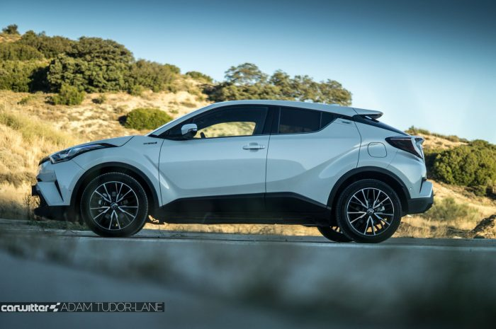 Toyota C HR Review Side carwitter 700x465 - Toyota C-HR Review - Toyota C-HR Review