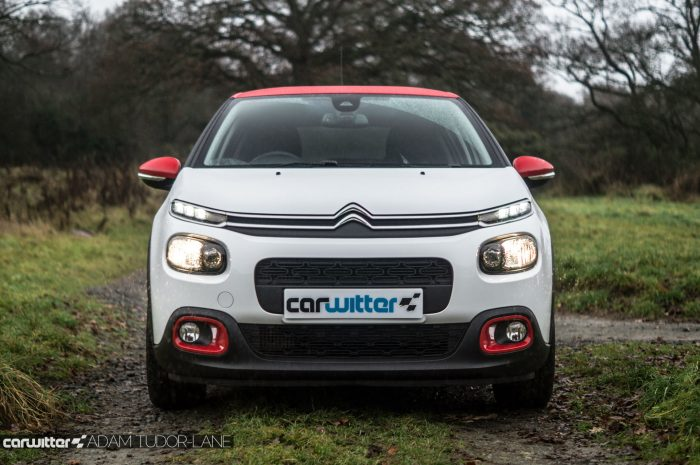 2016 Citroen C3 Ripcurl Review Front Low carwitter 700x465 - New Citroen C3 Review - New Citroen C3 Review