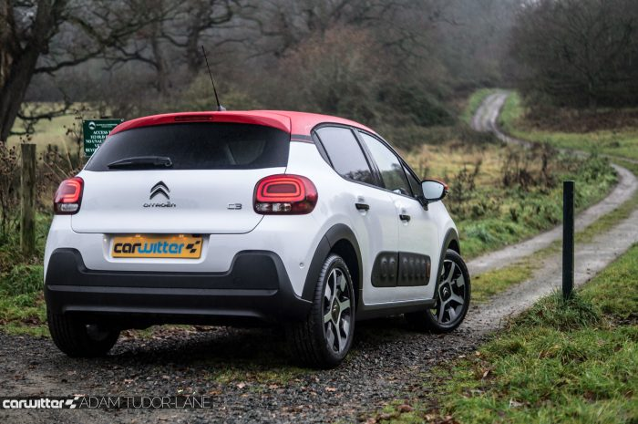 2016 Citroen C3 Ripcurl Review Rear Scene carwitter 700x465 - New Citroen C3 Review - New Citroen C3 Review