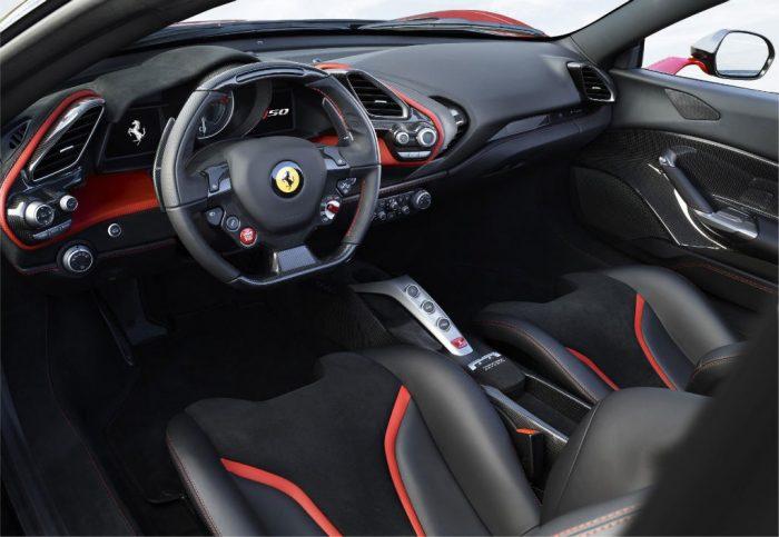 Ferrari J50 Dashboard 700x483 - Limited Edition Ferrari J50 Revealed - Limited Edition Ferrari J50 Revealed