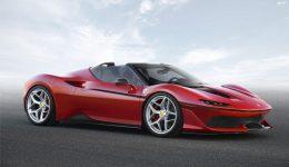 Ferrari J50 Front 260x150 - Limited Edition Ferrari J50 Revealed - Limited Edition Ferrari J50 Revealed