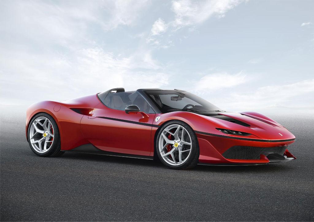 Ferrari J50 Front - Limited Edition Ferrari J50 Revealed - Limited Edition Ferrari J50 Revealed