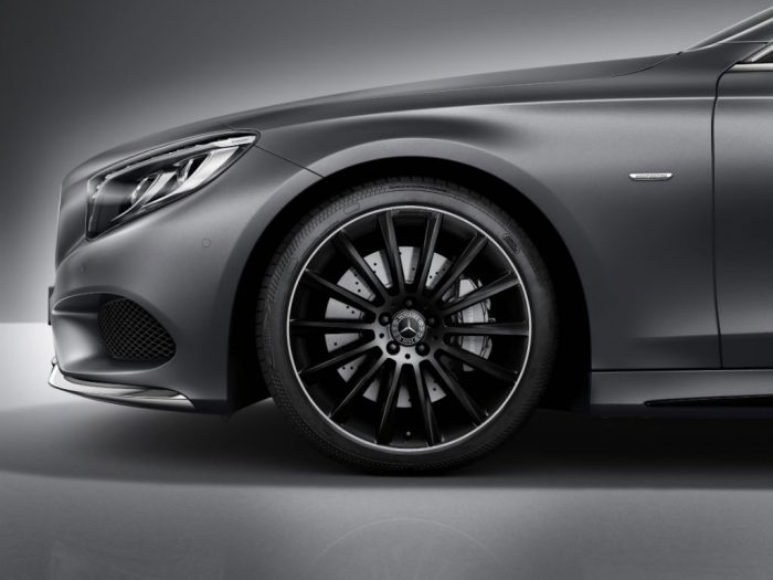 Mercedes S Class Coupe Night Edition Alloy Wheel 700x525 - Mercedes S-Class Coupe Night Edition Announced - Mercedes S-Class Coupe Night Edition Announced