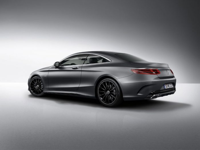 Mercedes S Class Coupe Night Edition Back 700x525 - Mercedes S-Class Coupe Night Edition Announced - Mercedes S-Class Coupe Night Edition Announced