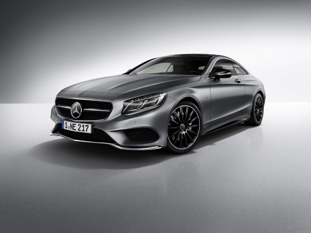 Mercedes S Class Coupe Night Edition Front - Mercedes S-Class Coupe Night Edition Announced - Mercedes S-Class Coupe Night Edition Announced