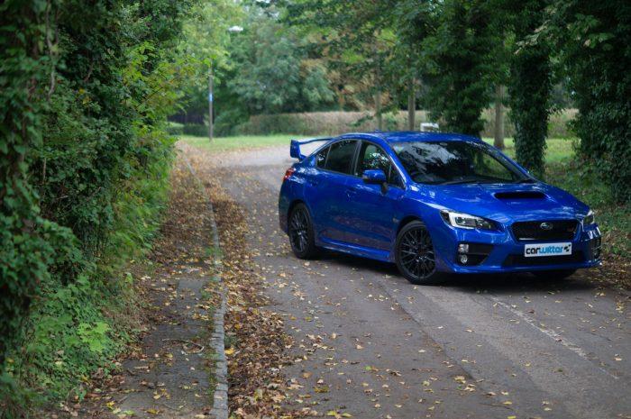 2016 Subaru WRX STi Review Front Angle Scene carwitter 700x465 - Subaru WRX STi 2016 Review - Subaru WRX STi 2016 Review
