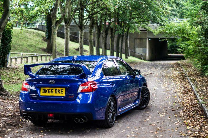 2016 Subaru WRX STi Review Rear Scene carwitter 700x465 - Subaru WRX STi 2016 Review - Subaru WRX STi 2016 Review