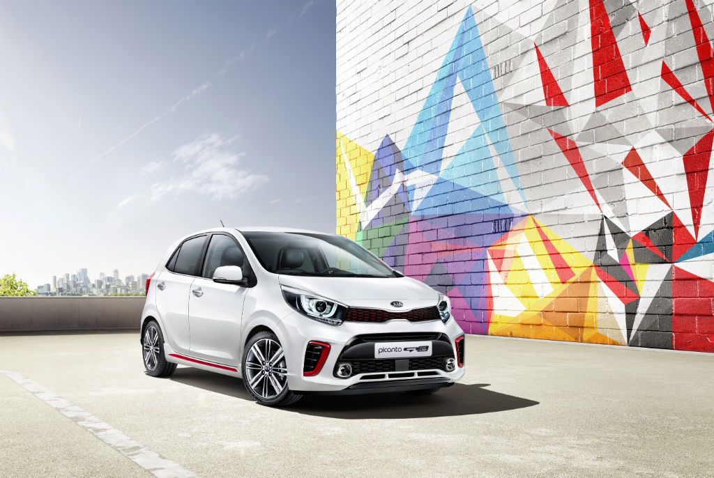 2017 Kia Picanto Front - First Images of All-New Kia Picanto Revealed - First Images of All-New Kia Picanto Revealed