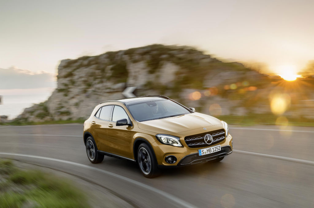 2017 Mercedes GLA Front - Pricing and Spec for 2017 Mercedes GLA Announced - Pricing and Spec for 2017 Mercedes GLA Announced
