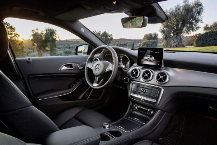 2017 Mercedes GLA Interior 700x467 - Pricing and Spec for 2017 Mercedes GLA Announced - Pricing and Spec for 2017 Mercedes GLA Announced