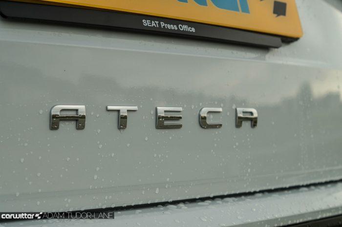 2017 SEAT Ateca Review Rear Badge carwitter 700x465 - SEAT Ateca Review UK - SEAT Ateca Review UK