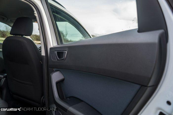 2017 SEAT Ateca Review Rear Door Plastic carwitter 700x465 - SEAT Ateca Review UK - SEAT Ateca Review UK