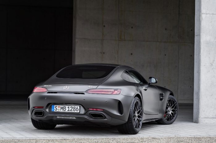 Mercedes AMG GT C Edition 50 Back 700x464 - Mercedes-AMG GT C Announced to Celebrate 50 Year Partnership - Mercedes-AMG GT C Announced to Celebrate 50 Year Partnership
