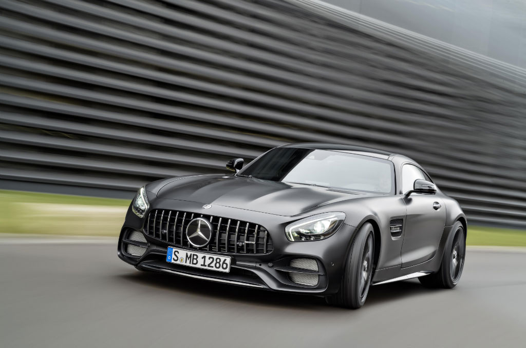 Mercedes AMG GT C Edition 50 Front - Mercedes-AMG GT C Announced to Celebrate 50 Year Partnership - Mercedes-AMG GT C Announced to Celebrate 50 Year Partnership