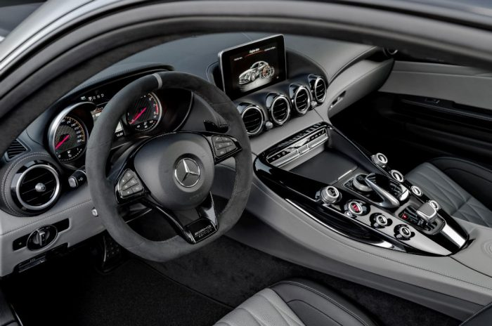 Mercedes AMG GT C Edition 50 Interior 700x464 - Mercedes-AMG GT C Announced to Celebrate 50 Year Partnership - Mercedes-AMG GT C Announced to Celebrate 50 Year Partnership
